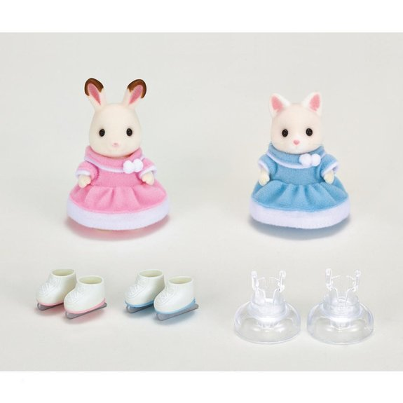 Les amies patineuses Sylvanian Families 5258