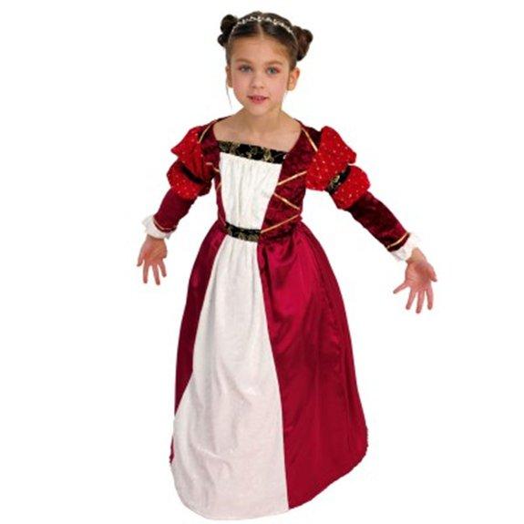 Déguisement de princesse médiévale : taille 5-7 ans