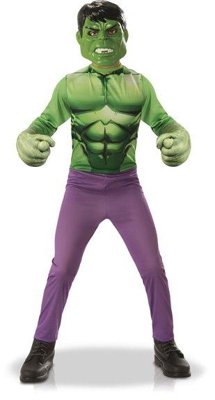 Déguisement Hulk et gants Taille L