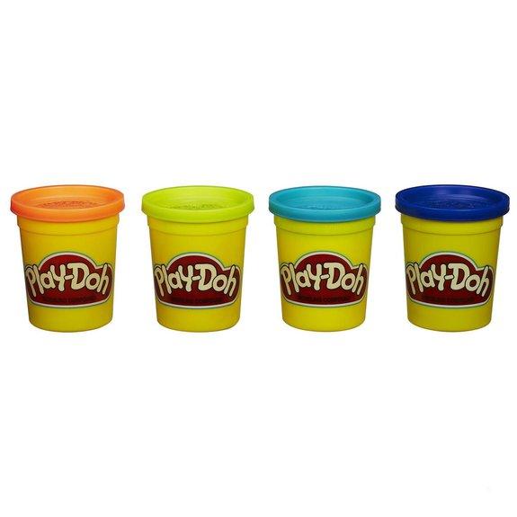 4 pots de pâte à modeler