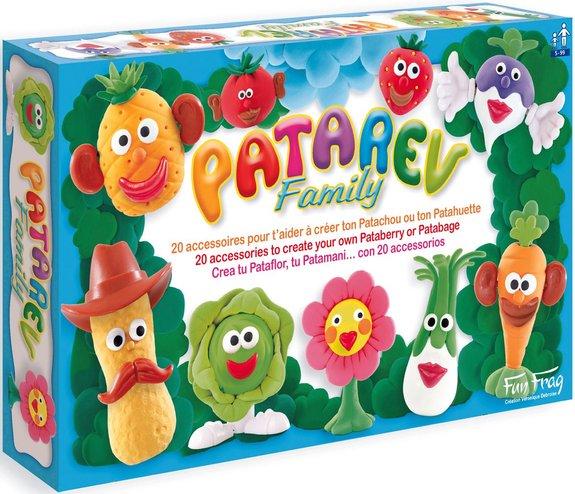 Maxi-coffret de pâte à modeler Patarev Family