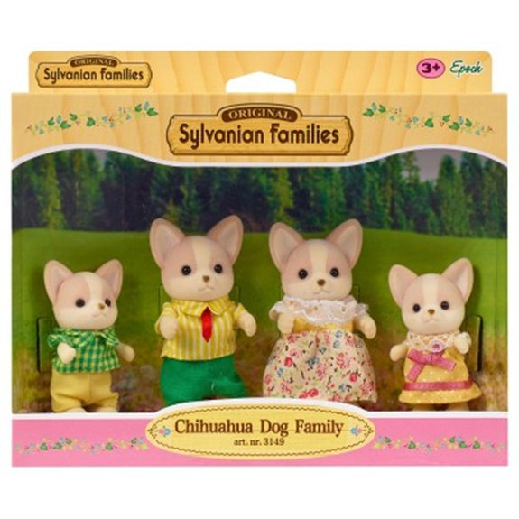 Sylvanian Family 3149 : Famille Chihuahua