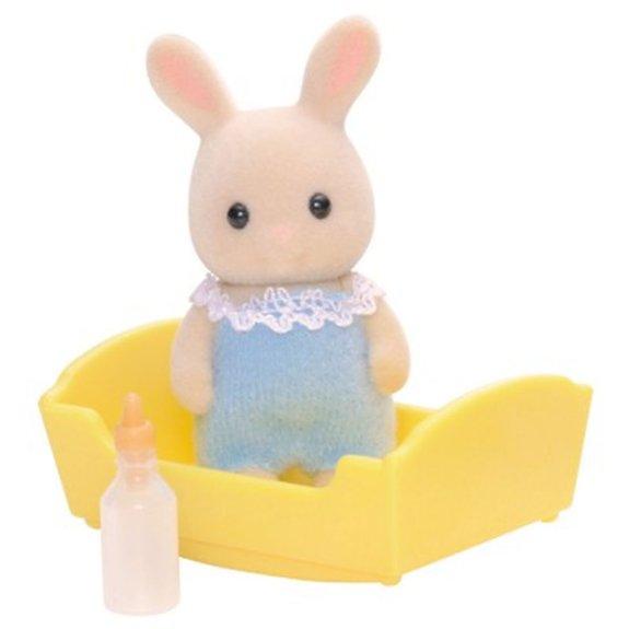 Sylvanian Family 3418 : Bébé lapin crème