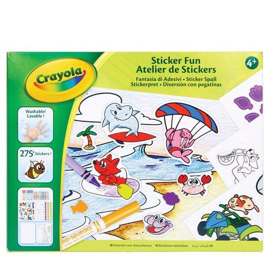Crayola - Atelier de stickers