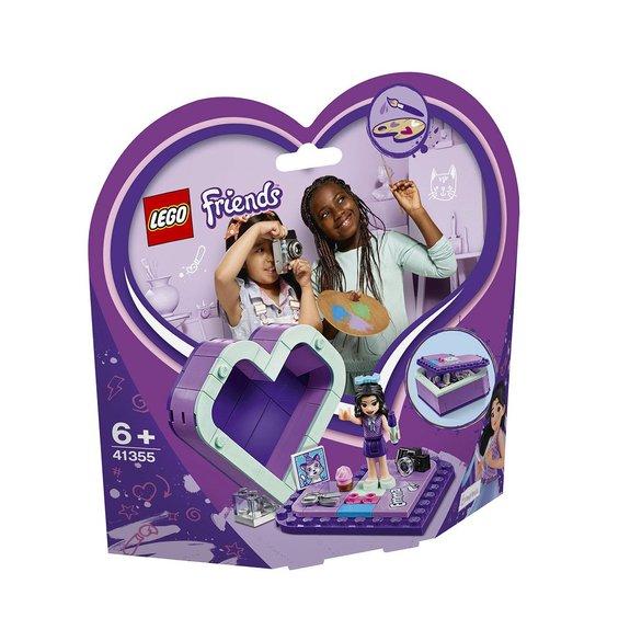 La boîte cur d'Emma LEGO Friends 41355