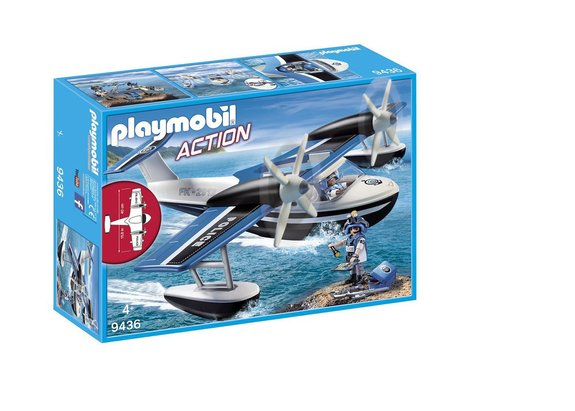 Hydravion de police Playmobil Action 9436