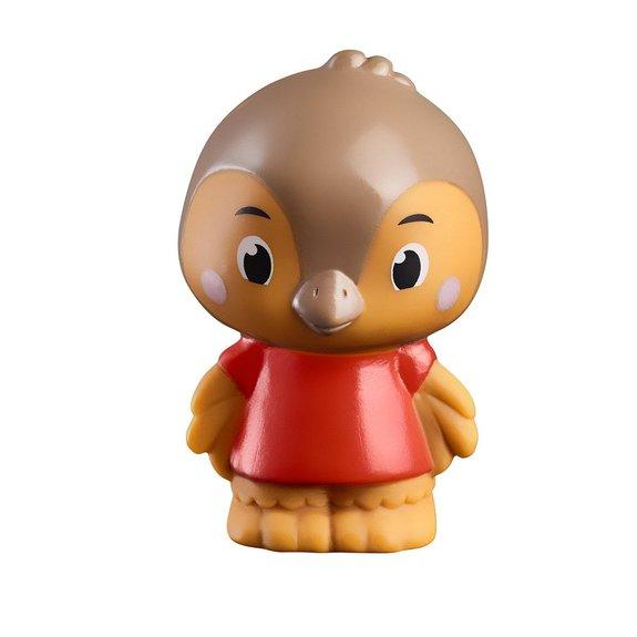 4 figurines de la famille TwitTwit Klorofil