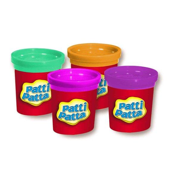 4 pots de pâte à modeler Patti Patta