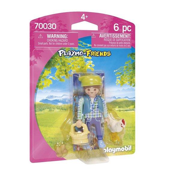 Fermière avec poule Playmobil Playmo-Friends 70030