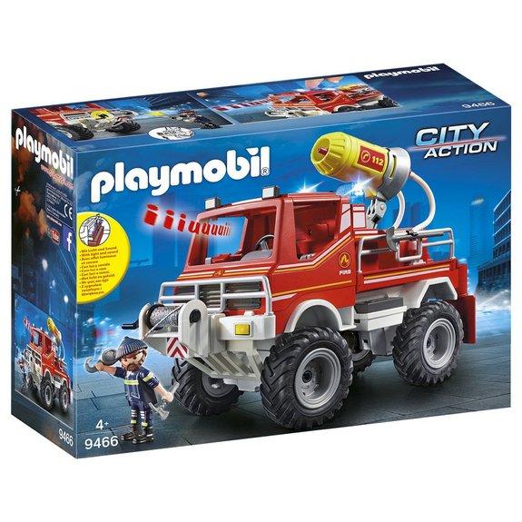 4x4 de pompier avec lance-eau Playmobil City Action 9466