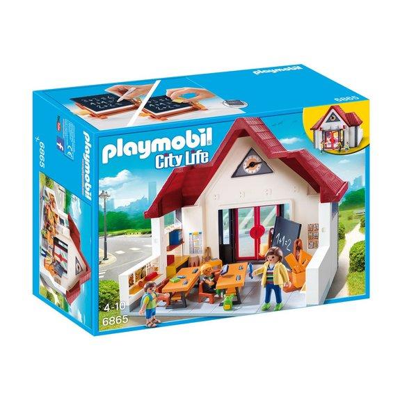 Ecole avec salle de classe Playmobil City Life 6865