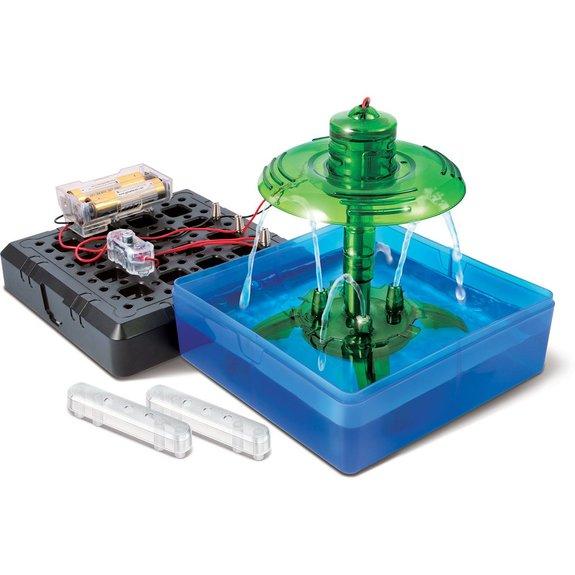 Mini expérience fontaine à eau