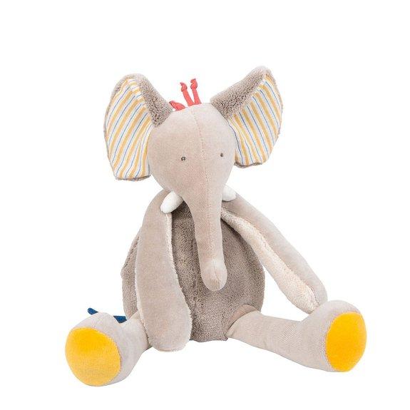 Poupée éléphant Les Papoum