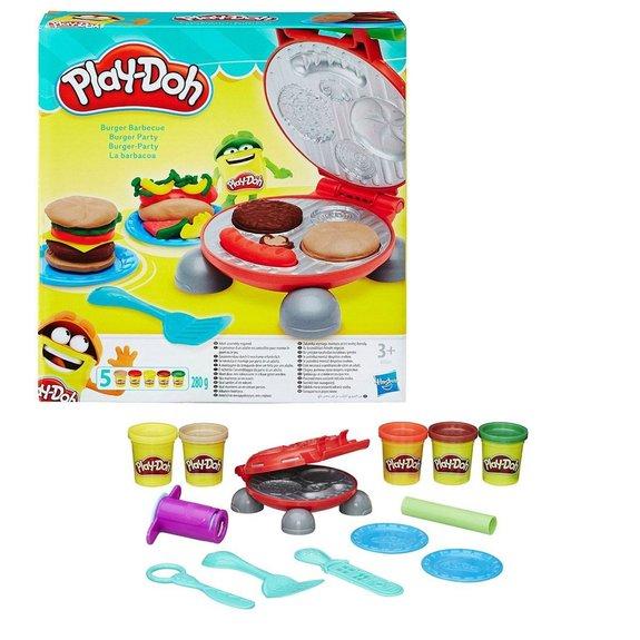 Pâte à modeler Burger Party