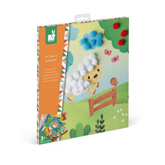 Kit Créatif - Cartes à Pompons
