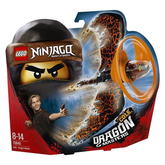 Cole le maître du dragon LEGO Ninjago 70645