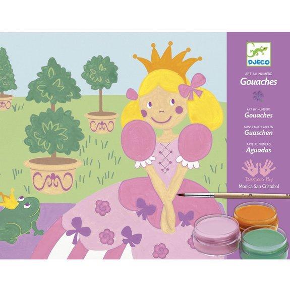 Gouaches - princesse marguerite