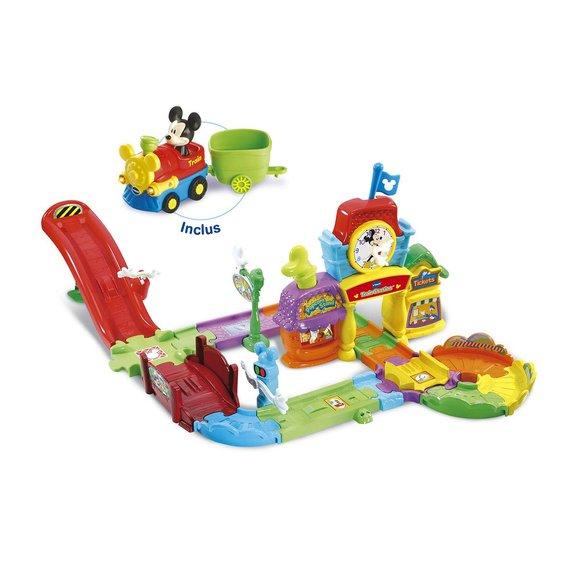 Le circuit train interactif de Mickey