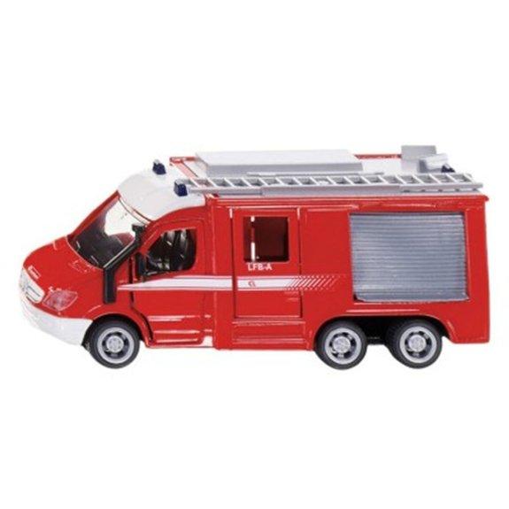 Modèle réduit en métal : Camion de pompiers Mercedes-Benz