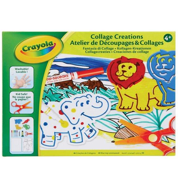 Crayola - Atelier de découpages et collages