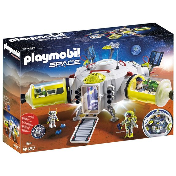 Station spatiale Mars Playmobil Space 9487