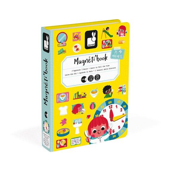Magnéti'book J'apprends l'heure