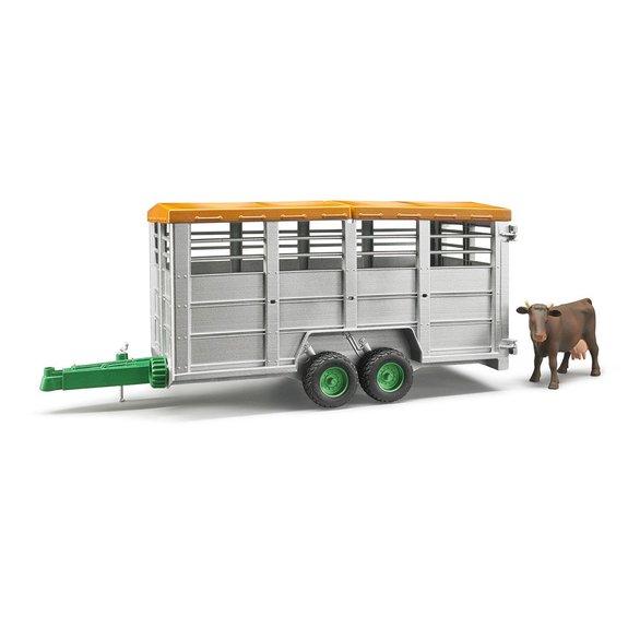 Remorque betaillere avec vache
