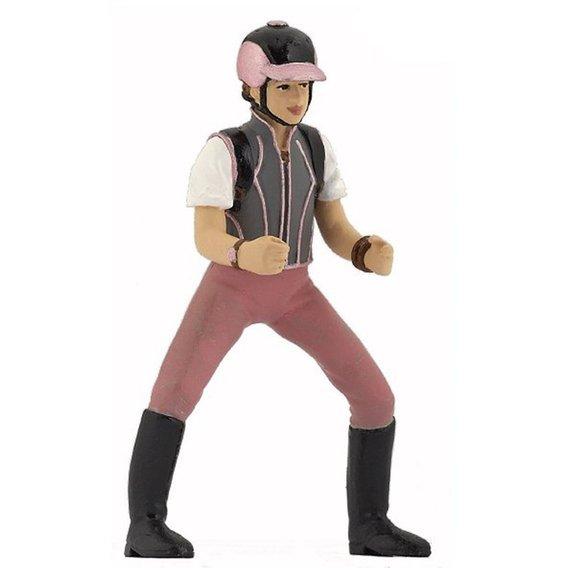 Figurine jeune Cavalière fashion