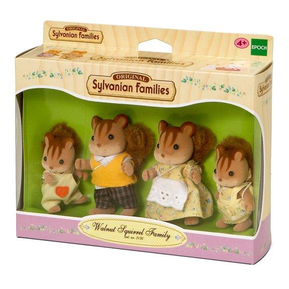 Famille écureuil roux - Sylvanian Families 3136