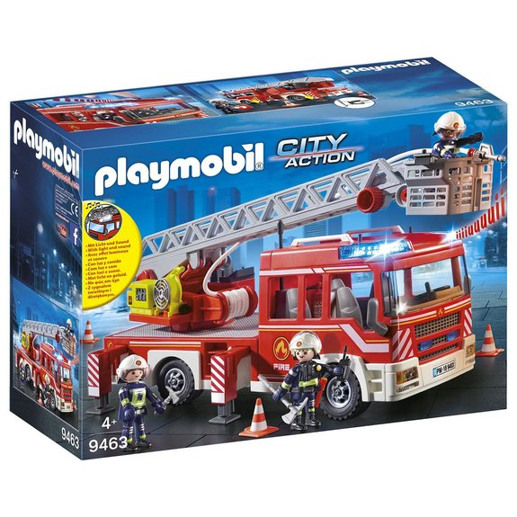 Camion pompiers échelle pivotante Playmobil City Action 9463