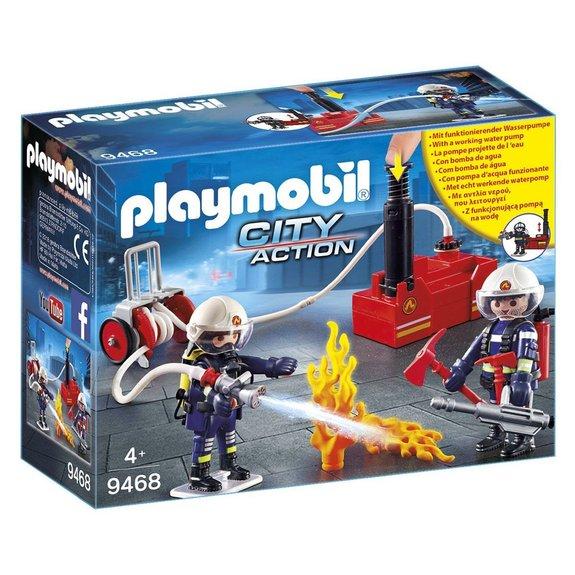 Pompiers avec matériel d'incendie Playmobil City Action 9468