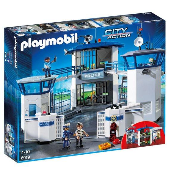 Commissariat de police avec prison Playmobil City Action 6919