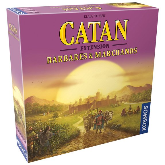 Catan - Extension Barbares & Marchands