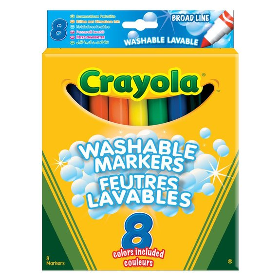 8 feutres à colorier ultra lavables