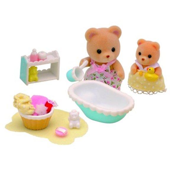 Le bain de bébé Ours Sylvanian Family 2228