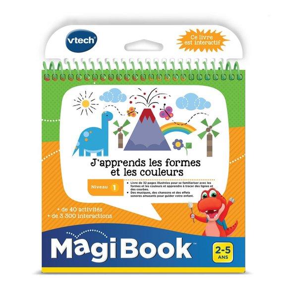 Magibook J'apprends les formes et les couleurs