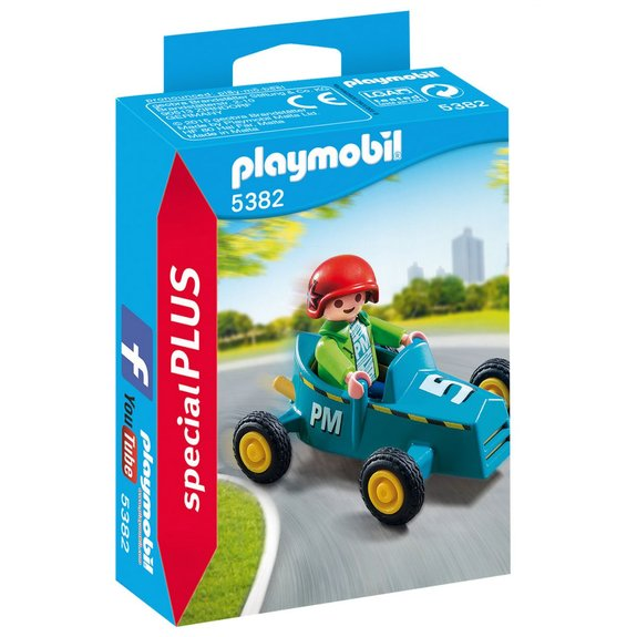 Enfant avec kart Playmobil Spécial PLUS 5382