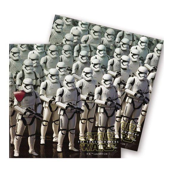 20 serviettes Star Wars VII