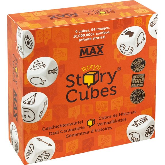 Story Cubes Max Edition