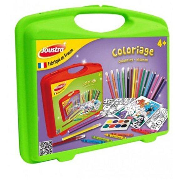 Mallette de loisirs créatifs : Coloriage