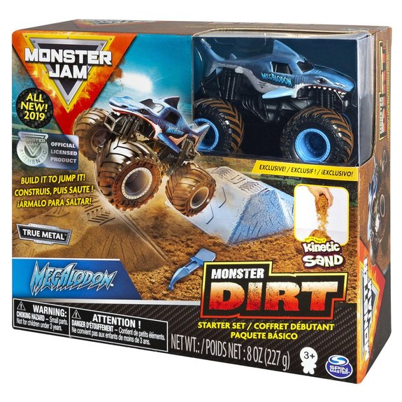 Monster Jam Monster Dirt starter set échelle 1:64