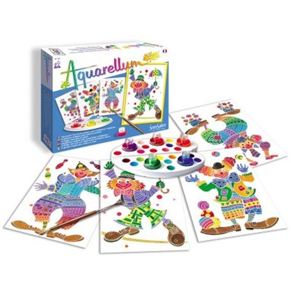 Aquarellum Junior thème clowns