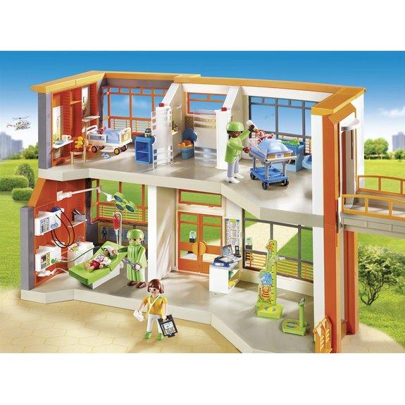 Hôpital pédiatrique aménagé Playmobil City Life 6657