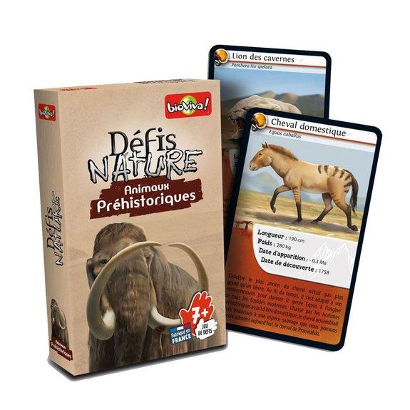 Défis nature animaux préhistoriques