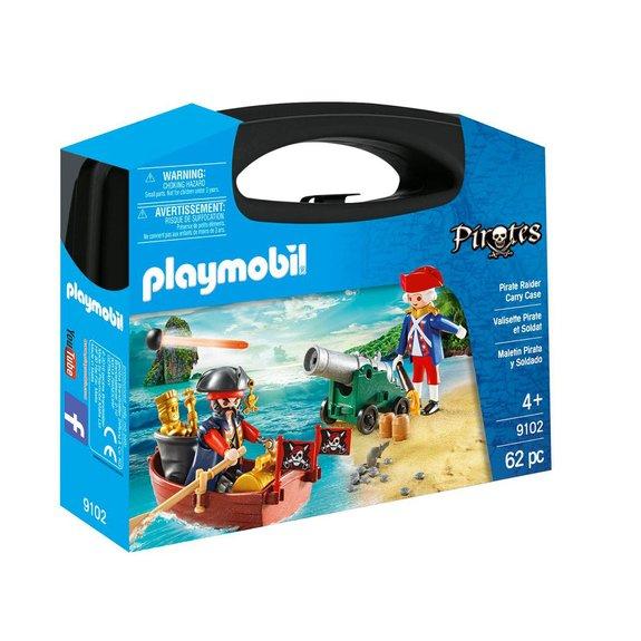 Valisette pirate et soldat Playmobil Pirates 9102