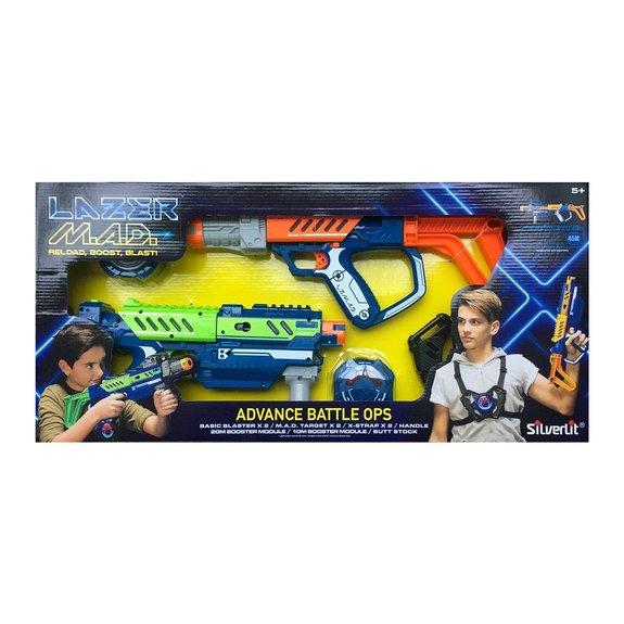 Pistolets LAZER M.A.D. Advance Battle Ops
