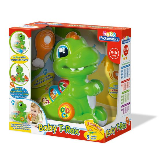 Baby T-Rex vert avec détecteur