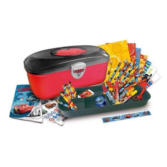 Boîte à outils Cars : Coloriage et crayons